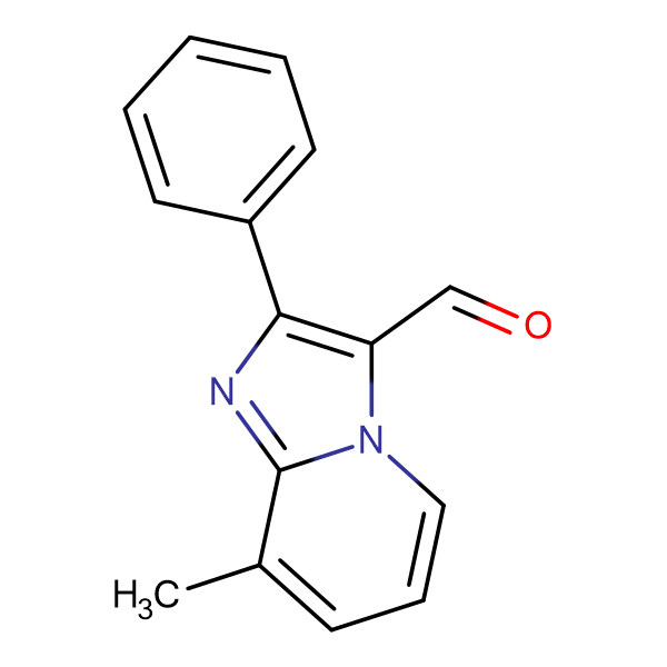 8-Methyl-2-phenyl-imidazo[1,2-a]pyridine-3-carboxaldehyde