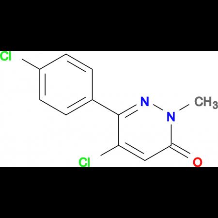 5-Chloro-6-(4-chlorophenyl)-2-methylpyridazin-3(2H)-one