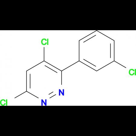 3-(3-Chlorophenyl)-4,6-dichloropyridazine