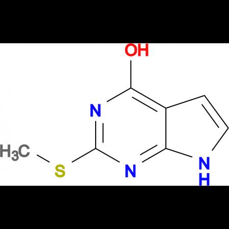 2-Methylsulfanyl-7H-pyrrolo[2,3-d]pyrimidin-4-ol