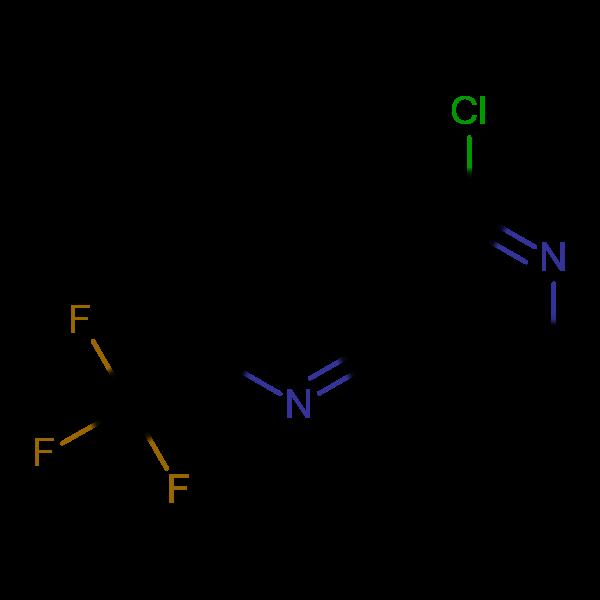 5-Chloro-2-(trifluoromethyl)-1,6-naphthyridine
