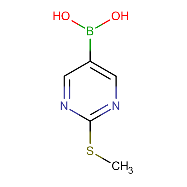2-(Methylthio)pyrimidine-5-boronic acid