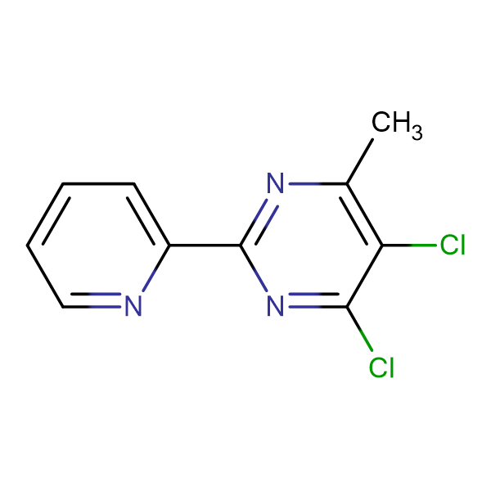 4,5-Dichloro-6-methyl-2-(2-pyridyl)pyrimidine