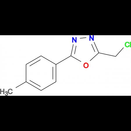 2-Chloromethyl-5-(4-methylphenyl)-1,3,4-oxadiazole