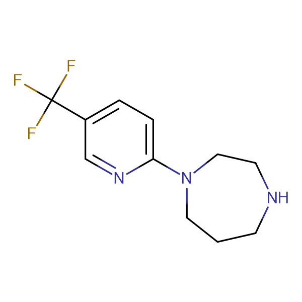 1-[5-(Trifluoromethyl)pyrid-2-yl]-1,4-diazepane
