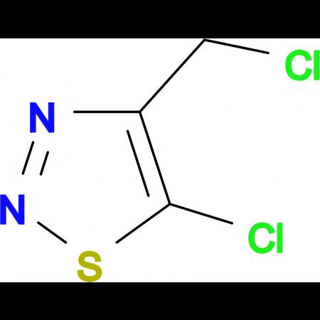 5-Chloro-4-(chloromethyl)-1,2,3-thiadiazole