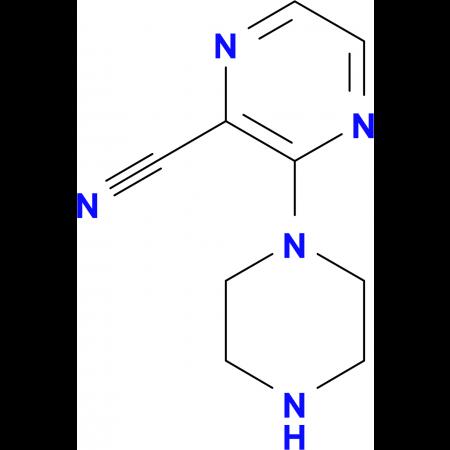 3-Piperazin-1ylpyrazine-2-carbonitrile