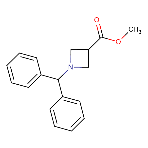 Methyl 1-(diphenylmethyl)azetidine-3-carboxylate