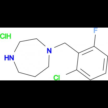 1-(2-Chloro-6-fluorobenzyl)homopiperazine hydrochloride