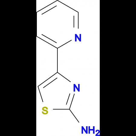 2-Amino-4-(2-pyridyl)thiazole