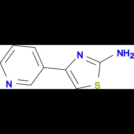 2-Amino-4-(3-pyridyl)thiazole