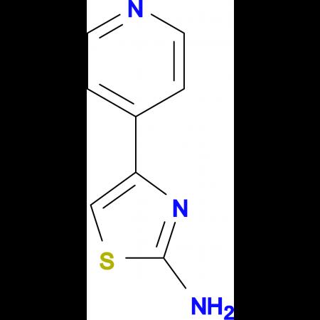 2-Amino-4-(4-pyridyl)thiazole