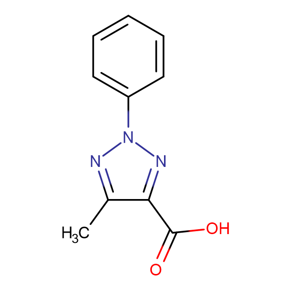 4-Methyl-2-phenyl-1,2,3-triazole-5-carboxylic acid