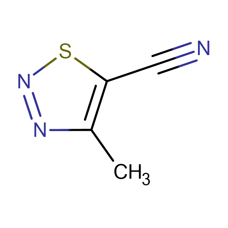 5-Cyano-4-methyl-1,2,3-thiadiazole
