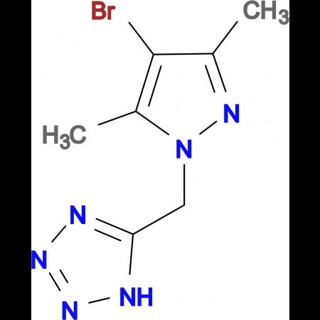 5-[(4-Bromo-3,5-dimethylpyrazol-1-yl)methyl]tetrazole