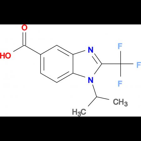 1-iso-Propyl-2-(trifluoromethyl)benzimidazole-5-carboxylic acid