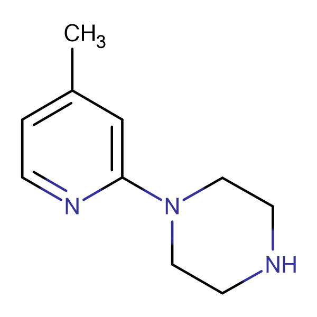 1-(4-Methylpyridin-2-yl)piperazine