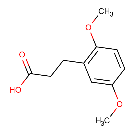 3-(2,5-Dimethoxyphenyl)propionic acid