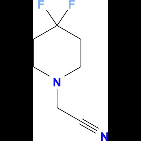 (4,4-Difluoropiperidin-yl)acetonitrile