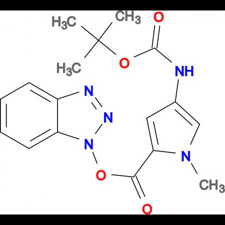 4-tert-Butoxycarbonylamino-1-methyl-1H-pyrrole-2-carboxylic acid benzotriazol-1yl ester