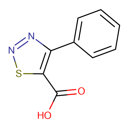 4-Phenyl[1,2,3]thiadiazole-5-carboxylic acid