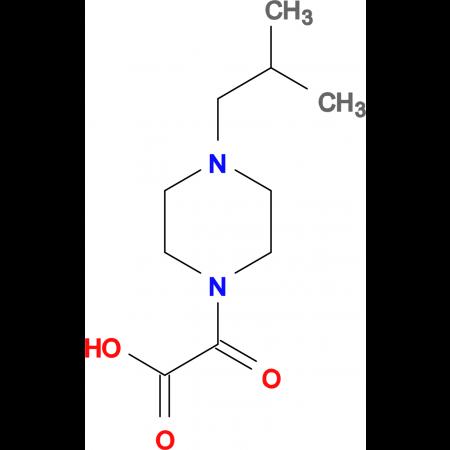 (4-Isobutyl-piperazin-1-yl)-oxo-acetic acid