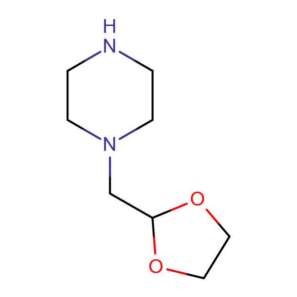 2-Piperazinomethyl-1,3-dioxolan
