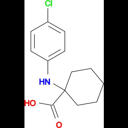 1-(4-Chloro-phenylamino)-cyclohexanecarboxylic acid
