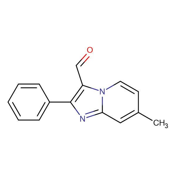 7-Methyl-2-phenyl-imidazo[1,2-a]pyridine-3-carbaldehyde