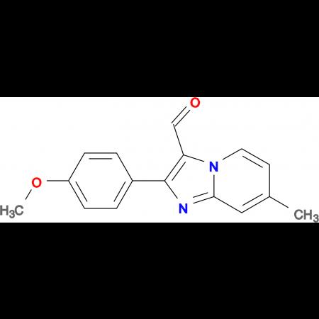 2-(4-Methoxy-phenyl)-7-methyl-imidazo[1,2-a]-pyridine-3-carbaldehyde