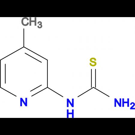 (4-Methyl-pyridin-2-yl)-thiourea