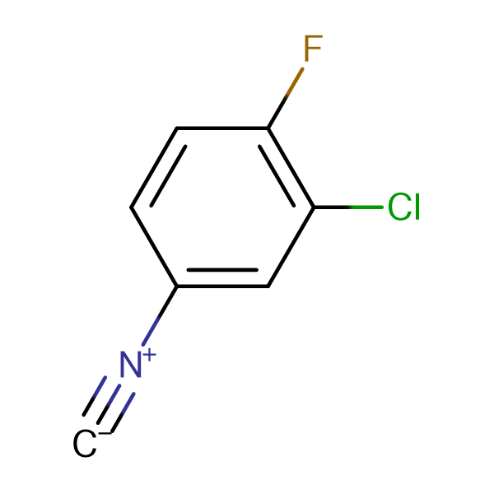 3-Chloro-4-fluorophenylisocyanide