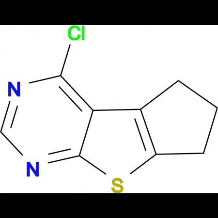 4-Chloro-2,3-dihydro-1H-8-thia-5,7-diaza-cyclopenta[a]indene