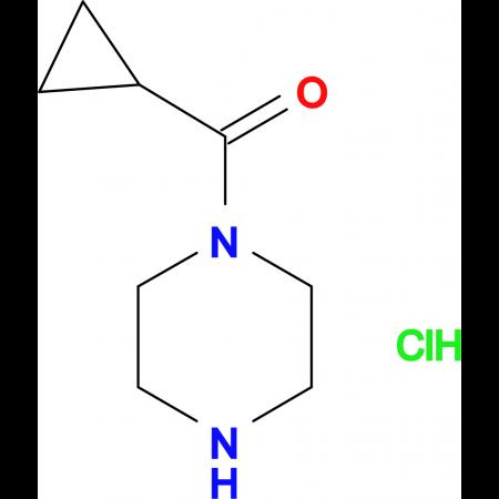 1-Cyclopropyl-2-piperazin-1-yl methanone hydrochloride