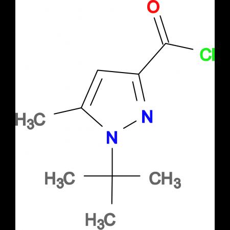 1-tert-Butyl-5-methyl-1H-pyrazole-3-carbonylchloride