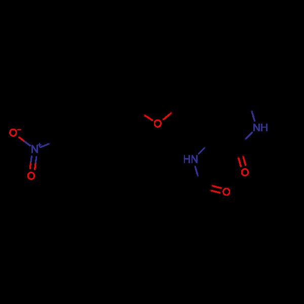 N-{1-Butylcarbamoyl-2-[5-(4-nitro-phenyl)-furan-2--yl]-vinyl}-4-methyl-benzamide