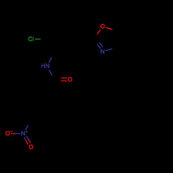 N-[2-Chloro-5-(5-methyl-benzooxazol-2-yl)-phenyl]-3-methyl-4-nitro-benzamide