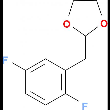 1,4-Difluoro-2-(1,3-dioxolan-2-ylmethyl)benzene
