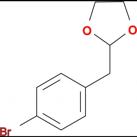 1-Bromo-4-(1,3-dioxolan-2-ylmethyl)benzene