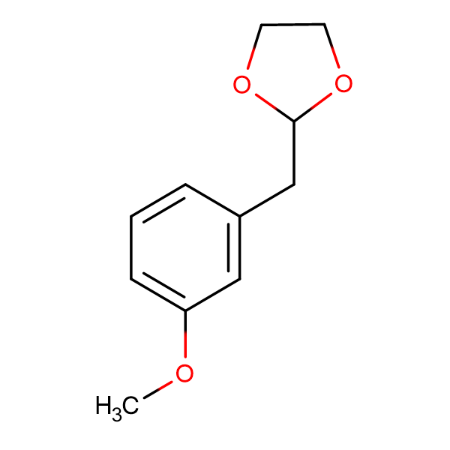 3-(1,3-Dioxolan-2-ylmethyl)anisole