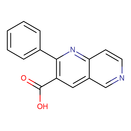 2-Phenyl-1,6-naphthyridine-3-carboxylic acid