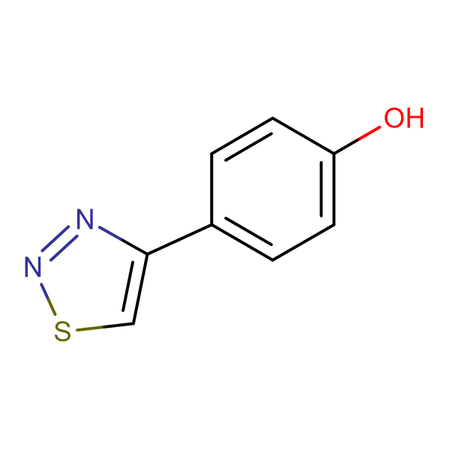 4-(1,2,3-Thiadiazol-4-yl)phenol