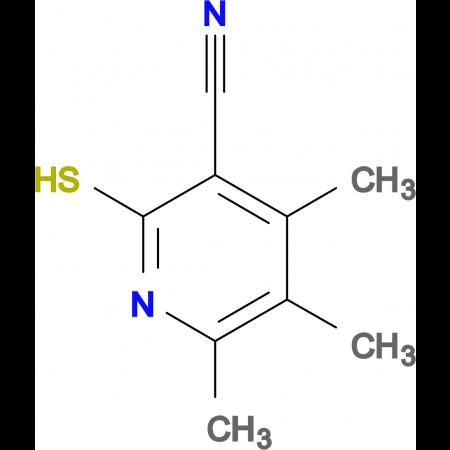 2-Mercapto-4,5,6-trimethylnicotinonitrile