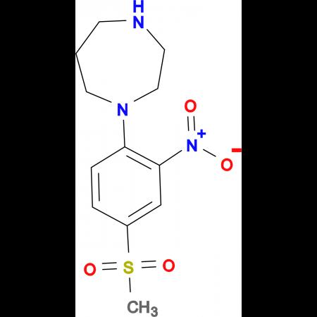 1-[4-(Methylsulfonyl)-2-nitrophenyl]-1,4-diazepane