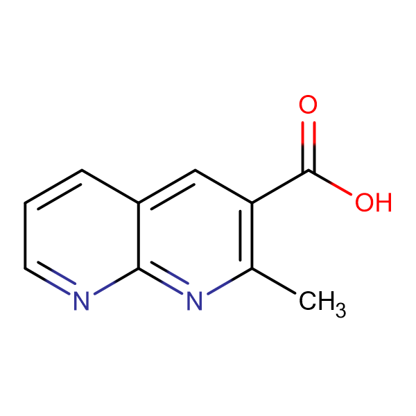 2-Methyl-1,8-naphthyridine-3-carboxylic acidmonohydrate