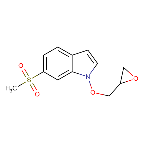 6-(Methylsulfonyl)-1-(oxiran-2-ylmethoxy)-1H-indole
