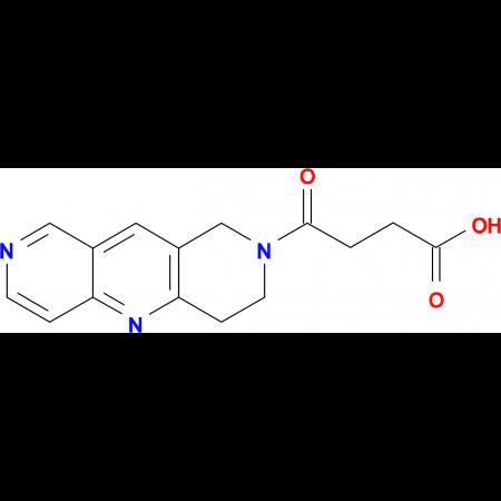 4-(3,4-Dihydropyrido[4,3-b]-1,6-naphthyridin-2(1H)-yl)-4-oxobutanoic acid