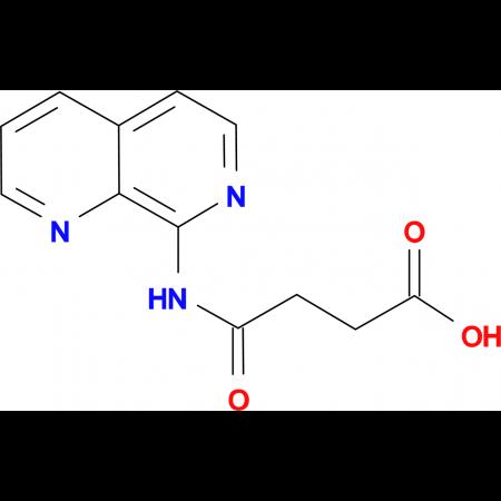 4-(1,7-Naphthyridin-8-ylamino)-4-oxobutanoic acid