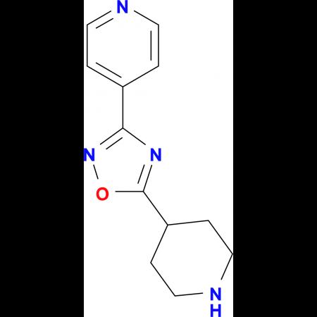 4-(5-Piperidin-4-yl-1,2,4-oxadiazol-3-yl)pyridine