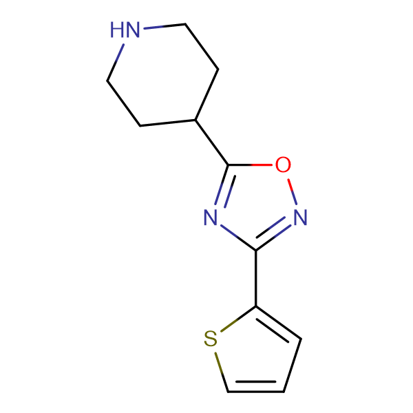 4-[3-(Thien-2-yl)-1,2,4-oxadiazol-5-yl]piperidine